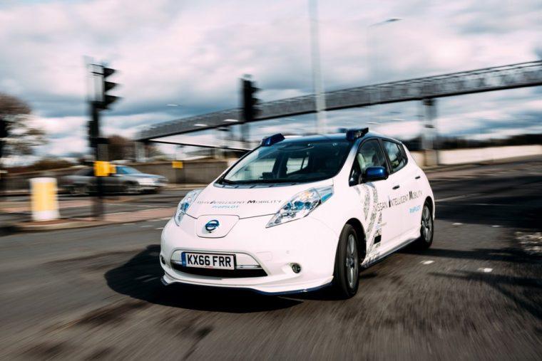 Nissan onroad autonomous testing